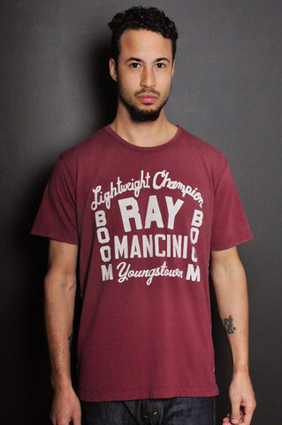 Ray Mancini Youngstown Sun Faded Tee