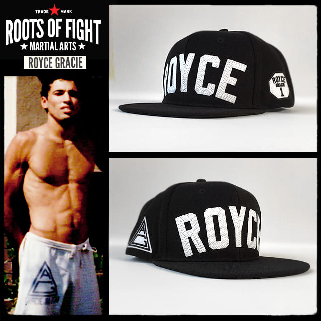 Royce Gracie Snapback Hat