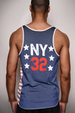 Dr. J NY #32 Striped Tank