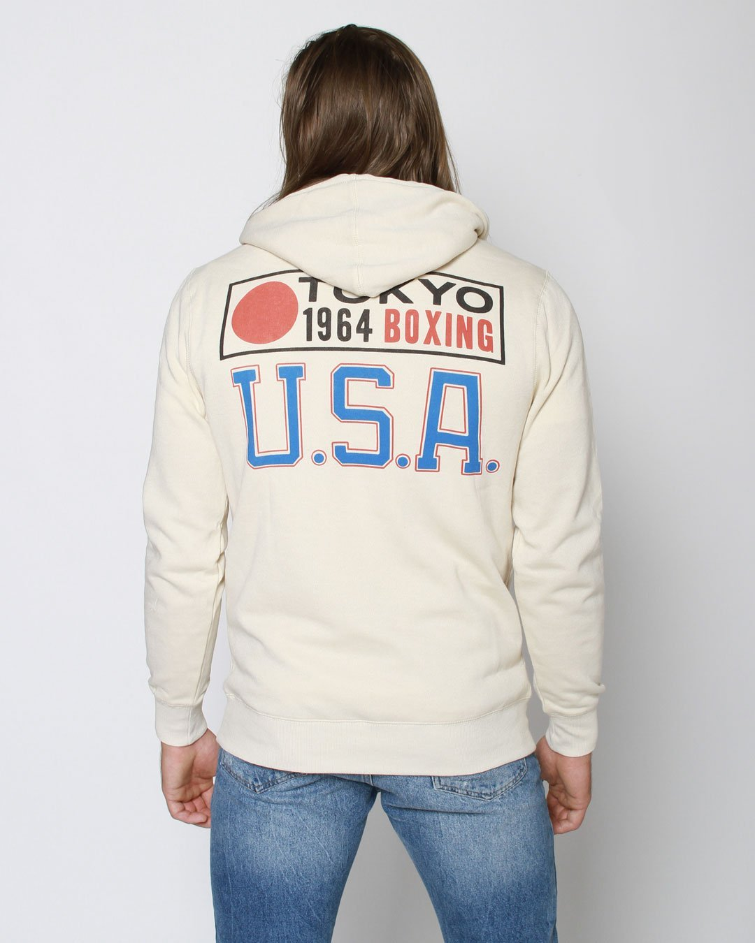 Joe Frazier Boxing USA Pullover Hoody