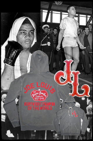 Joe Louis FZ French Terry Hoody