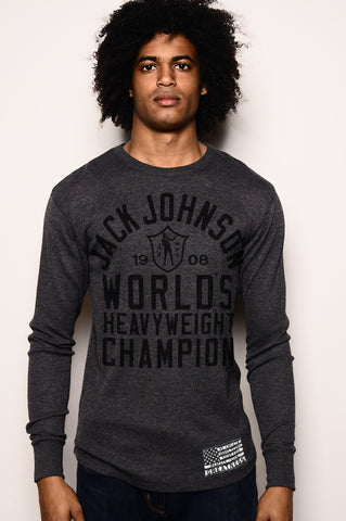 Black History Tribute - Jack Johnson Thermal Front