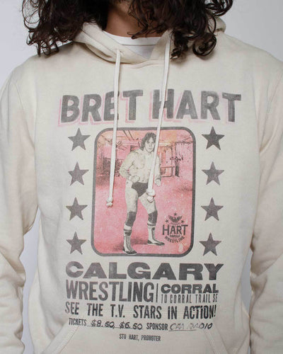 Bret Hart Photo Pullover Hoody