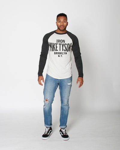 Iron Mike Tyson Brooklyn Raglan