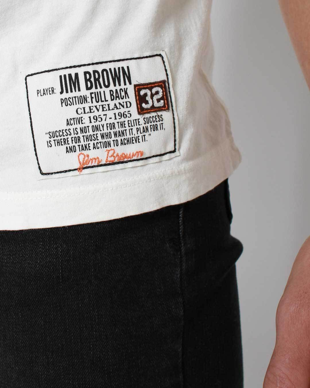 Jim Brown # 32 Cleveland Tee