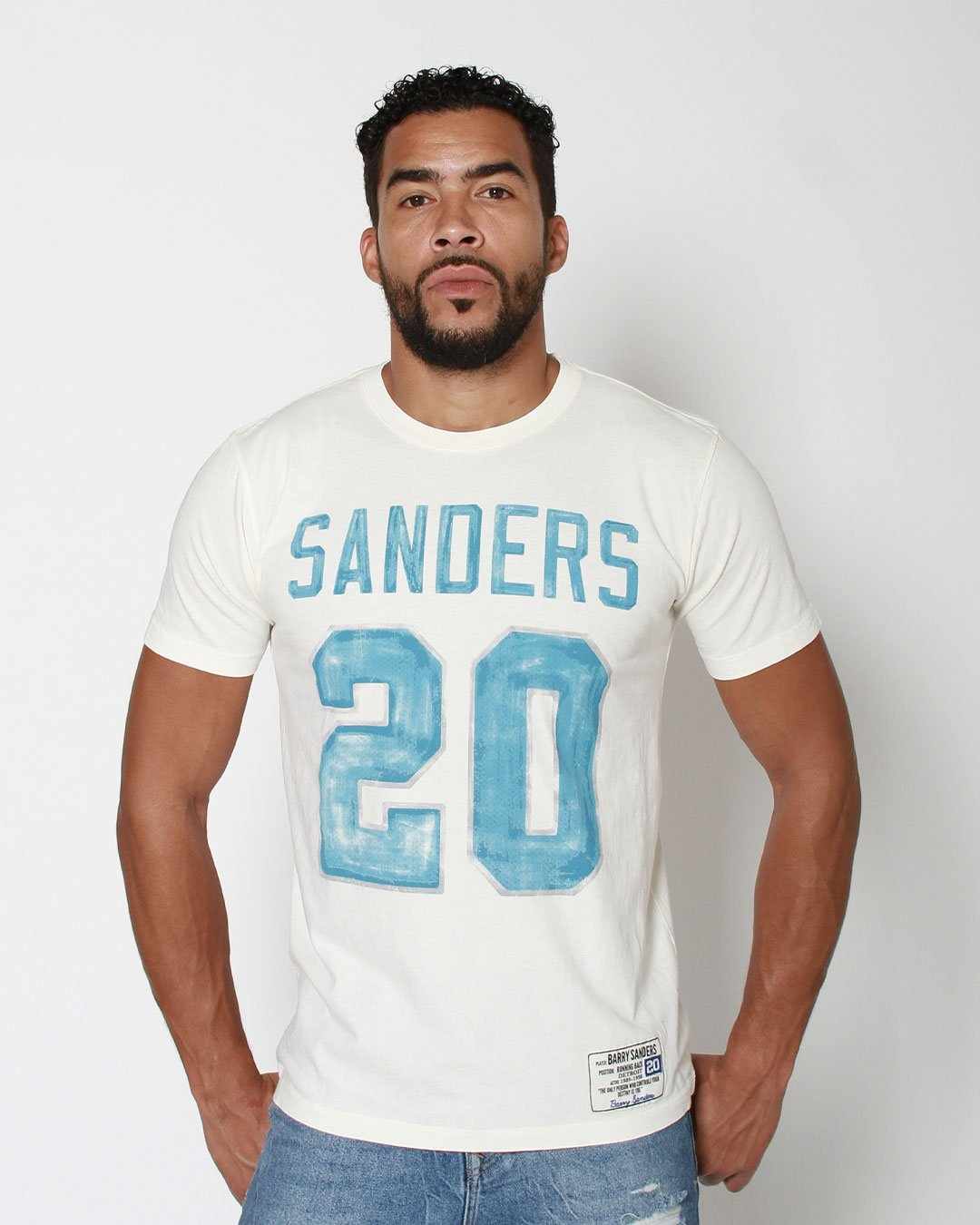 Barry Sanders #20 Tribute Tee