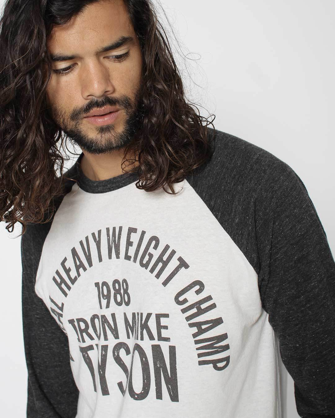 Iron Mike Tyson 1988 Raglan