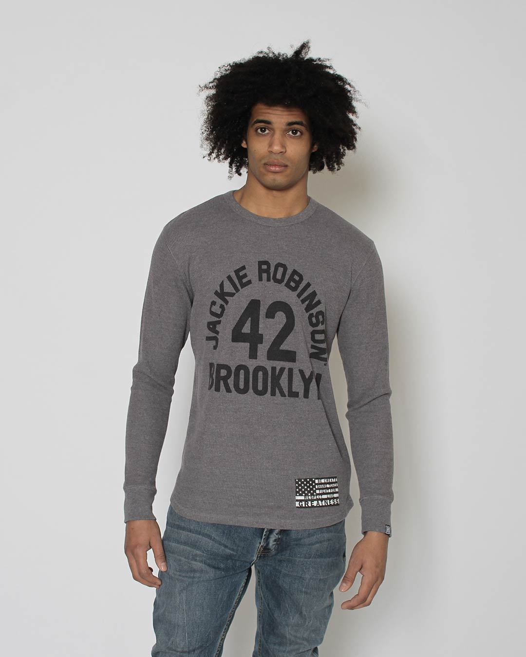 Black History Tribute - Jackie Robinson Long Sleeve