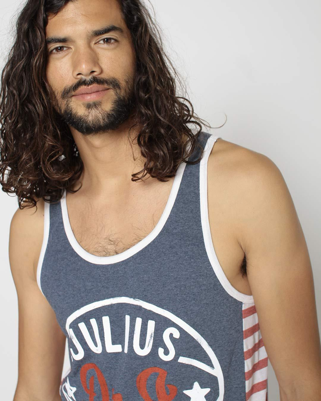 Julius 'Dr. J' Erving Striped Tank