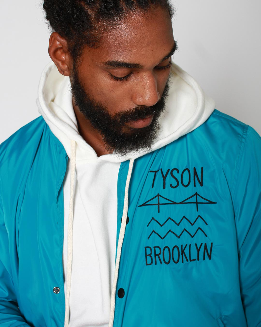 Tyson Brooklyn 'Be Real' Stadium Jacket Pre-Order