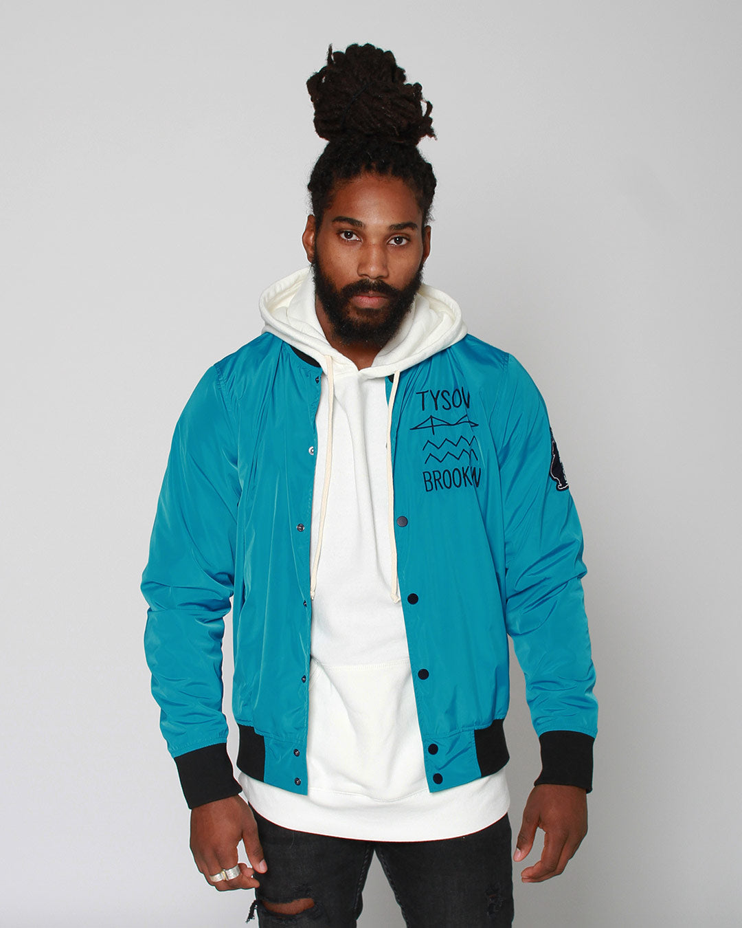 Tyson Brooklyn 'Be Real' Stadium Jacket