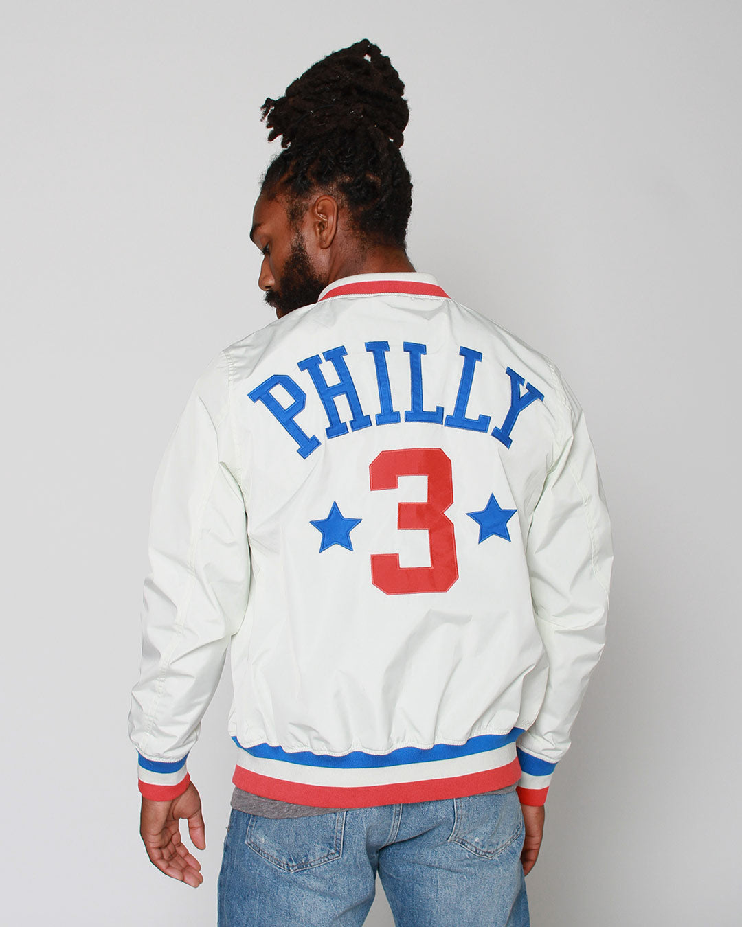 Iverson Philly #3 Stadium Jacket