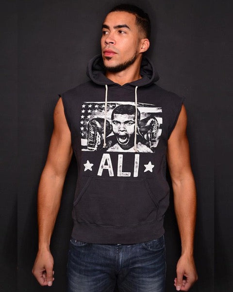 Ali Flag Sleeveless Hoody