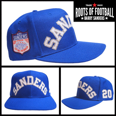 Barry Sanders Snapback Hat