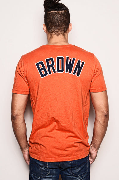 Jim Brown #44 Collegiate Tee