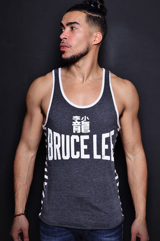 Bruce Lee Legacy Striped Tank