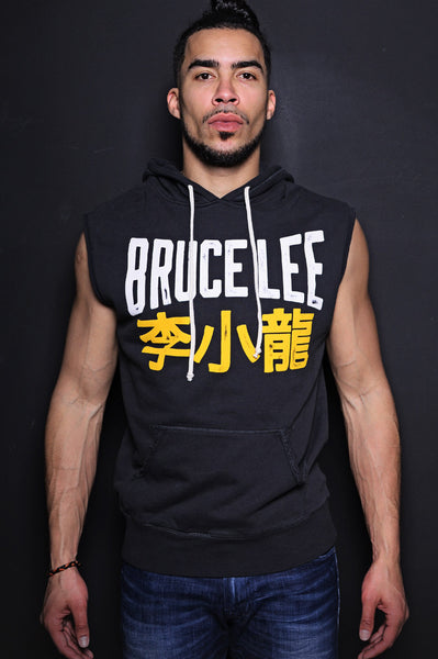 Bruce Lee Sleeveless Hoody