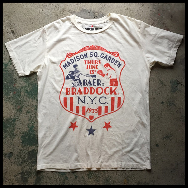 James Braddock NYC Tee Flat Front