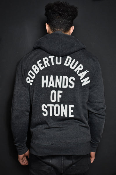 Roberto Duran 'Hands of Stone'  FZ Hoody Back