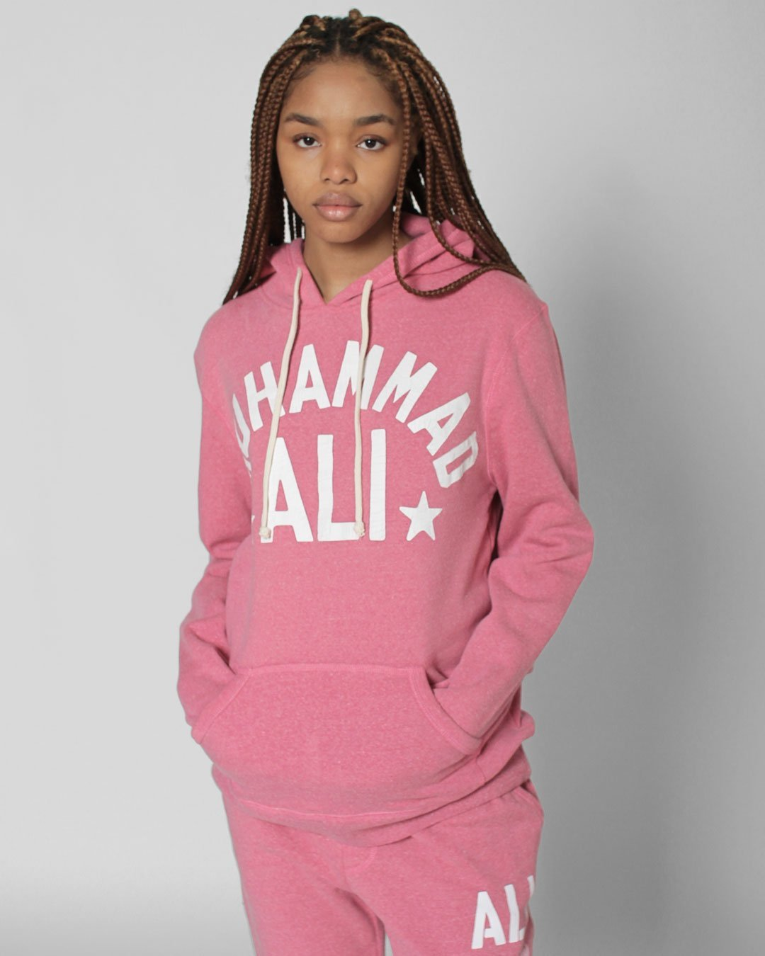 Ali Float Quote Pullover Hoody - Roots of Inc dba Roots of Fight