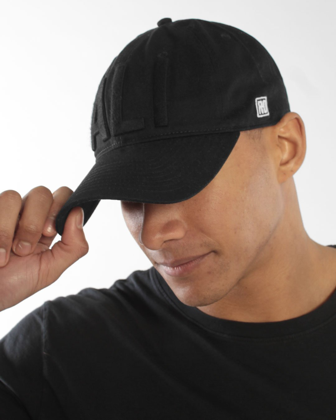 Ali Monochrome Adjustable Hat - Roots of Inc dba Roots of Fight
