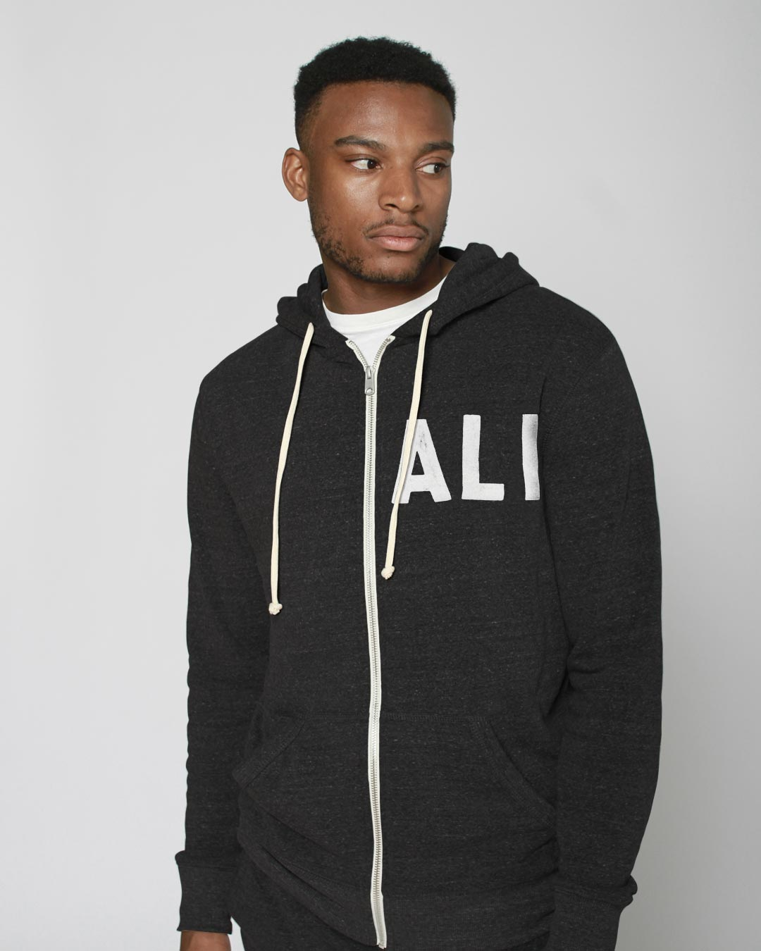 Ali Quote FZ Hoody - Roots of Inc dba Roots of Fight