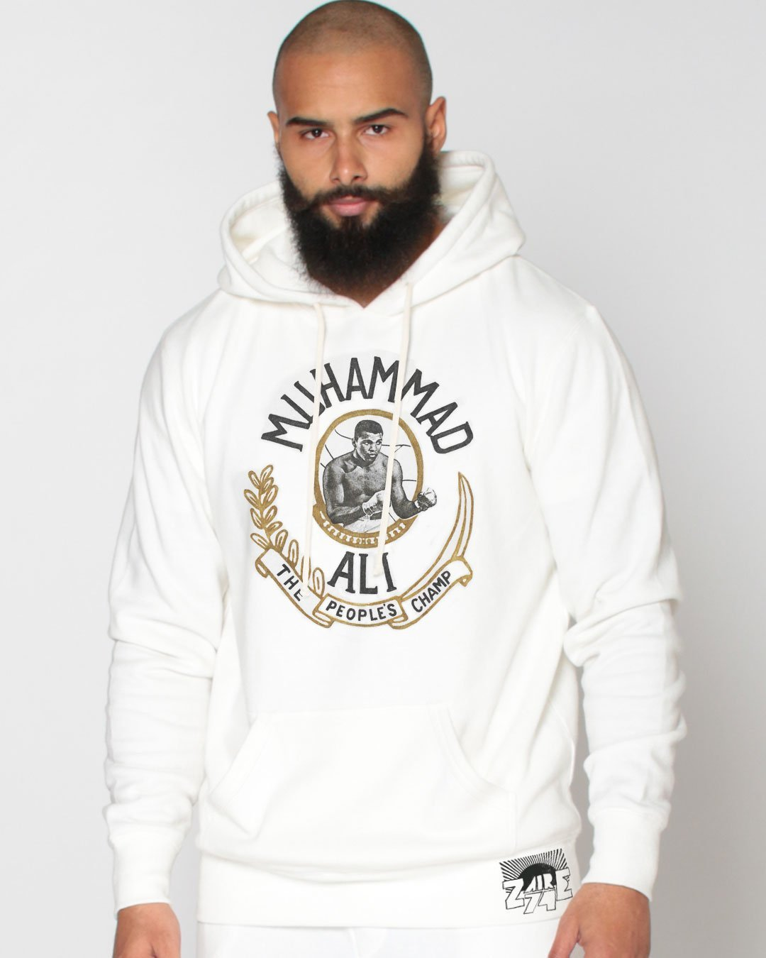 Ali Rumble Emblem Pullover Hoody - Roots of Inc dba Roots of Fight