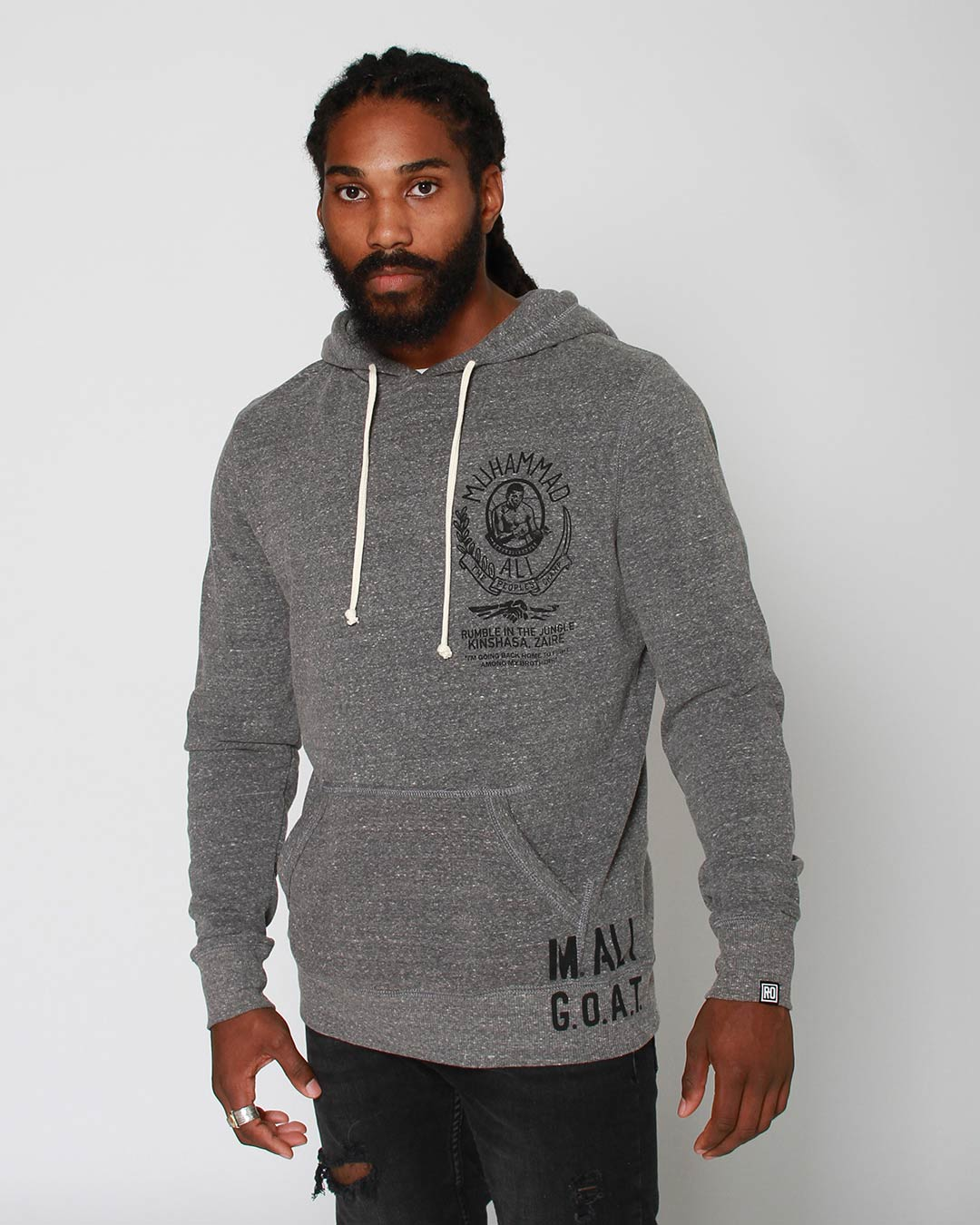 Ali Rumble Memento Pullover Hoody - Roots of Inc dba Roots of Fight