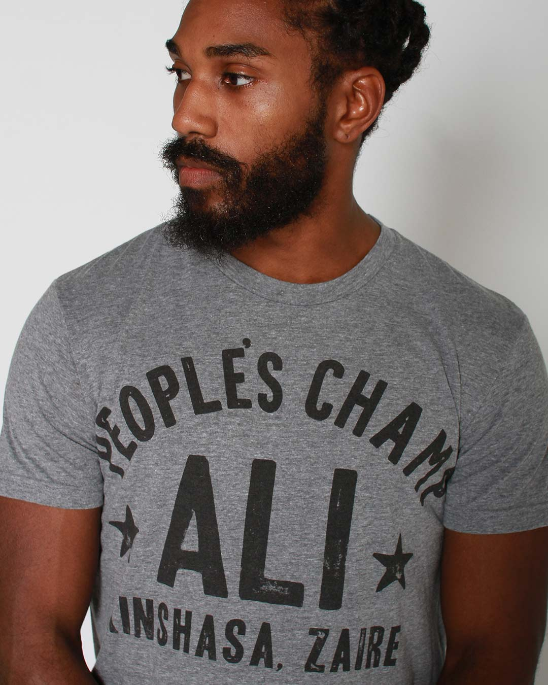 Ali Rumble Quote Tee - Roots of Inc dba Roots of Fight