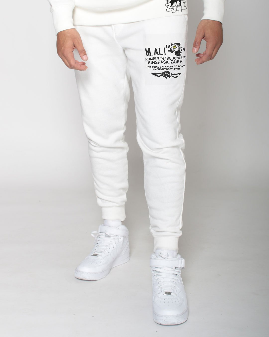 Ali Rumble Sweatpants - Roots of Inc dba Roots of Fight