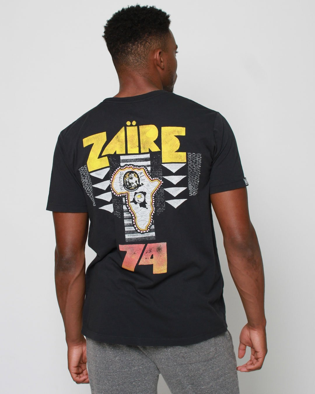 Ali Rumble Zaire 1974 Tee - Roots of Inc dba Roots of Fight