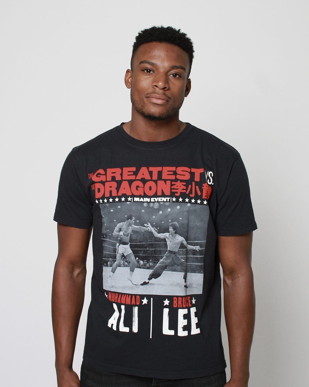 Ali vs. Lee - Night of Greatness Tee - Roots of Inc dba Roots of Fight