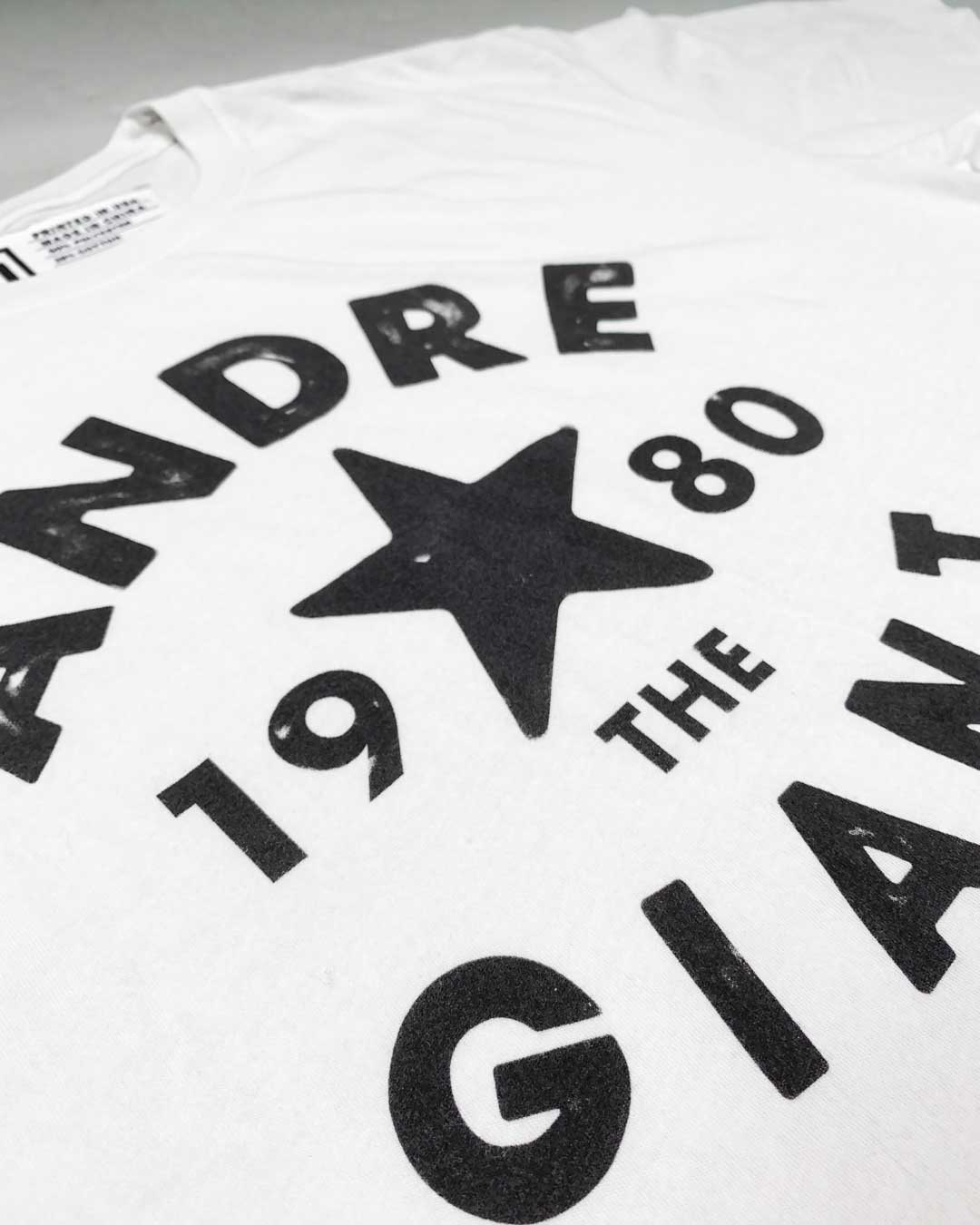 Andre the Giant 1980 Tribute Tee - Roots of Inc dba Roots of Fight