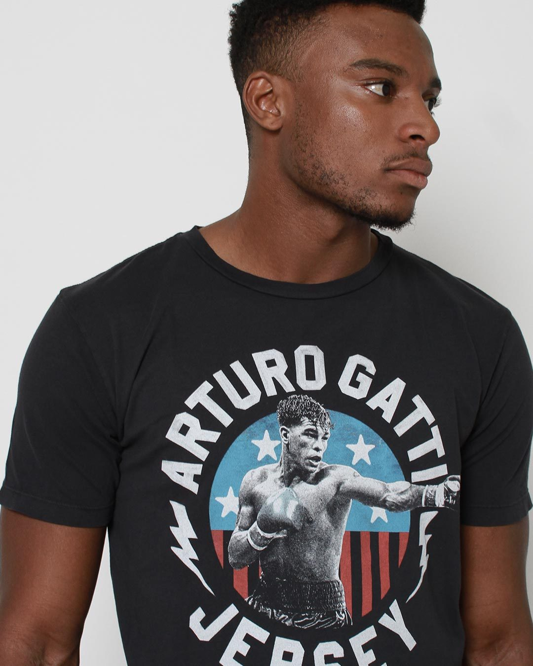 Arturo Gatti Jersey City Tee - Roots of Inc dba Roots of Fight