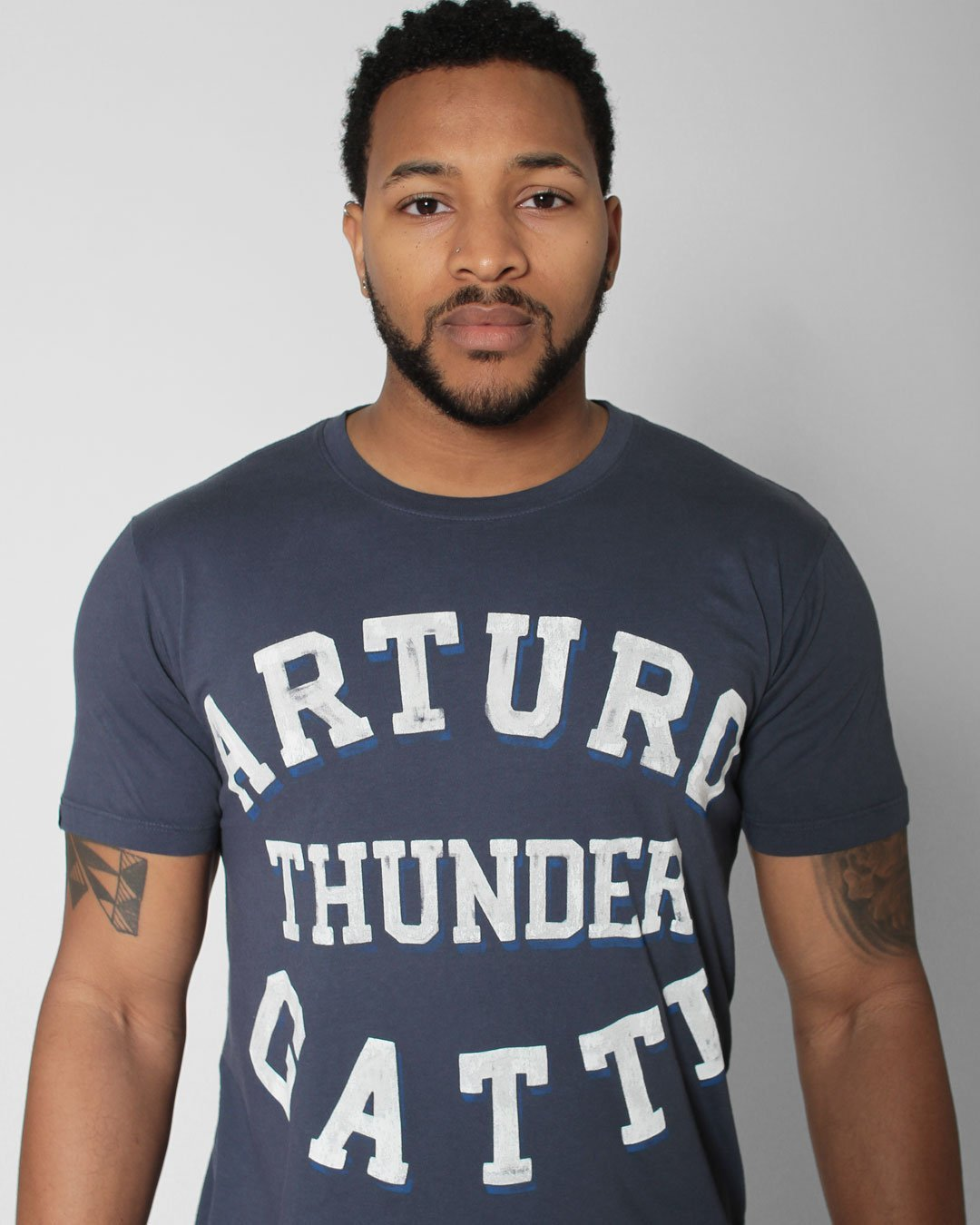 Arturo 'Thunder' Gatti Tribute Tee - Roots of Inc dba Roots of Fight