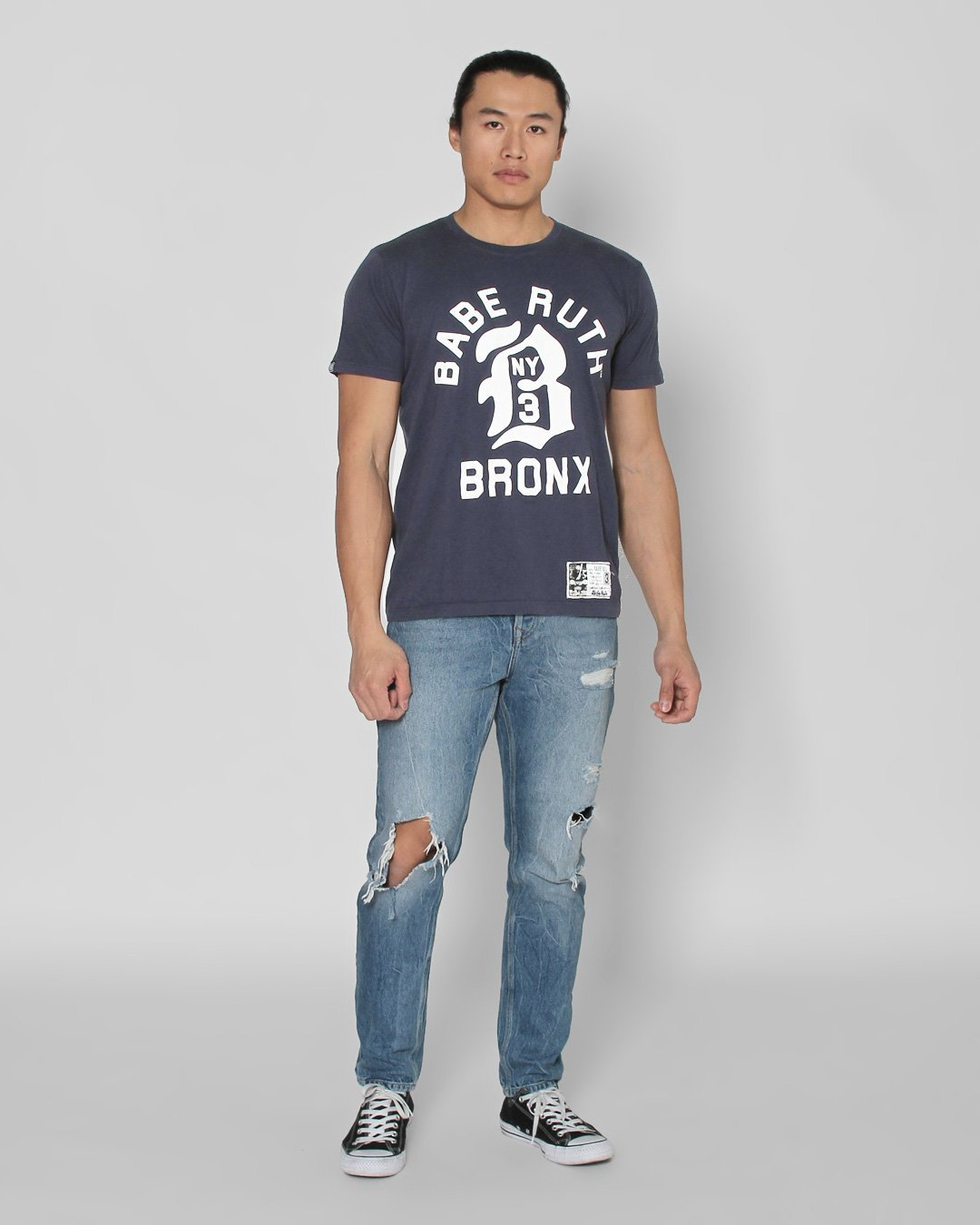 Babe Ruth Bronx Tee - Roots of Inc dba Roots of Fight