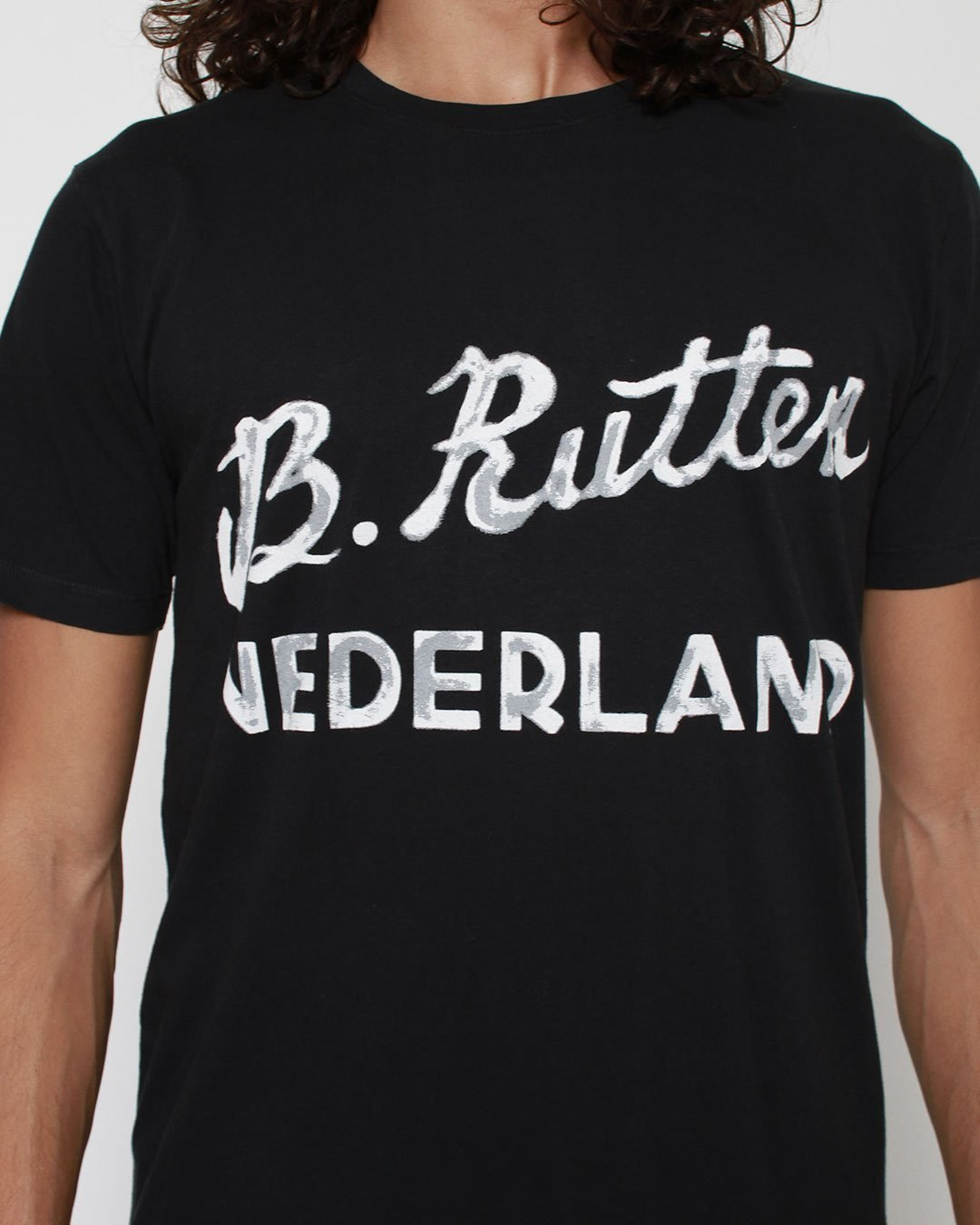 Bas Rutten Nederland Tee - Roots of Inc dba Roots of Fight