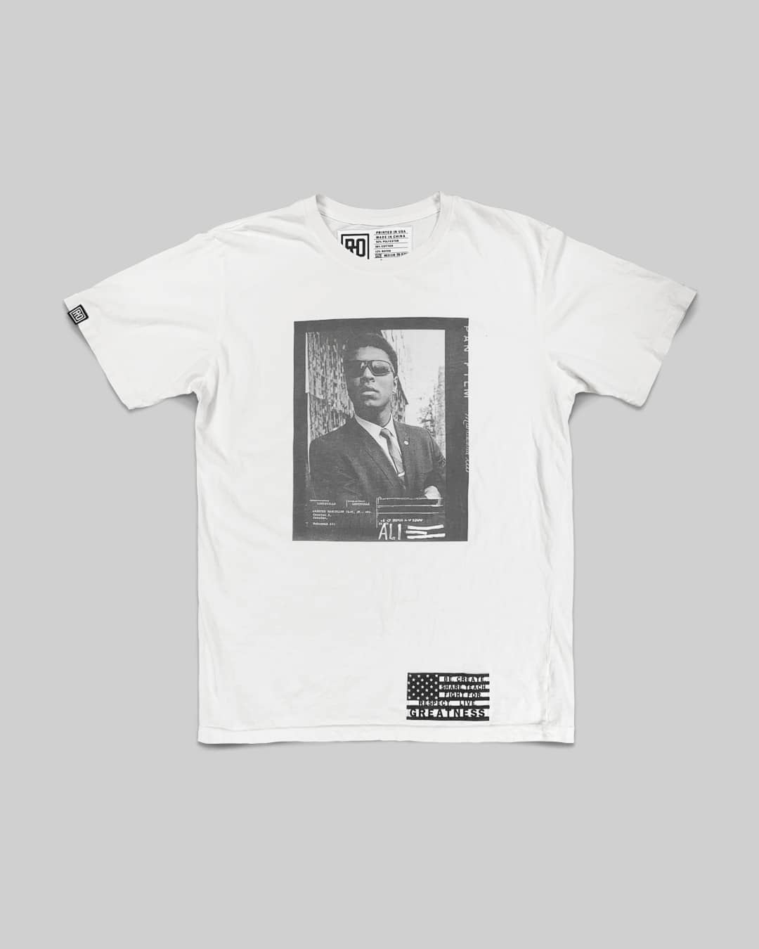 BHT - Ali Redacted Photo Tee - Roots of Inc dba Roots of Fight