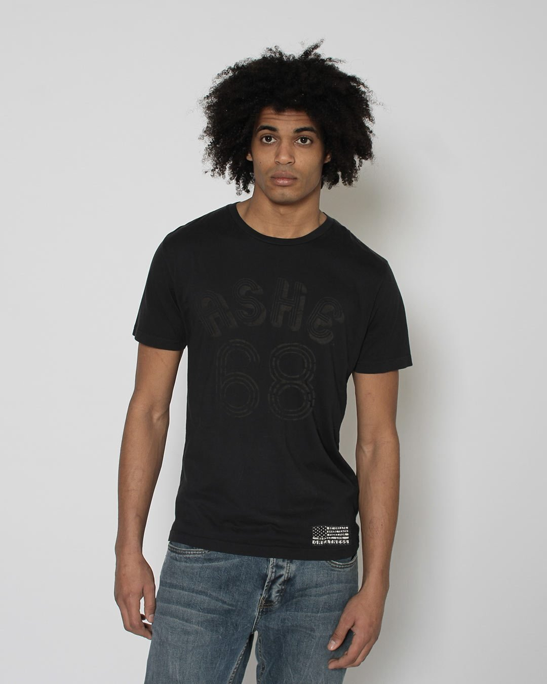 BHT - Arthur Ashe Tee - Roots of Inc dba Roots of Fight
