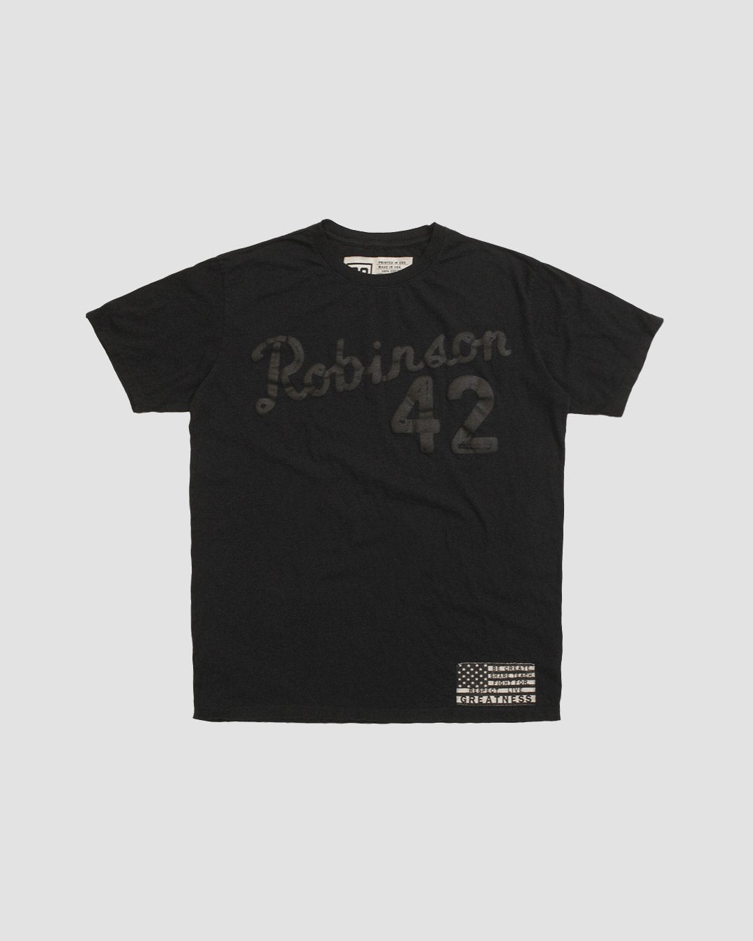 BHT - Jackie Robinson #42 Tee - Roots of Inc dba Roots of Fight
