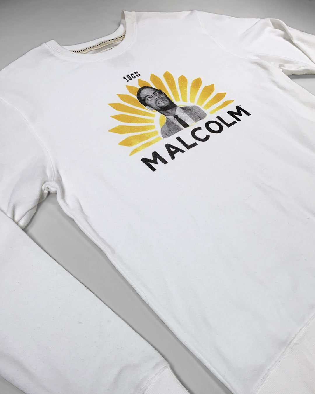 BHT - Malcolm X 1965 Sweatshirt - Roots of Inc dba Roots of Fight