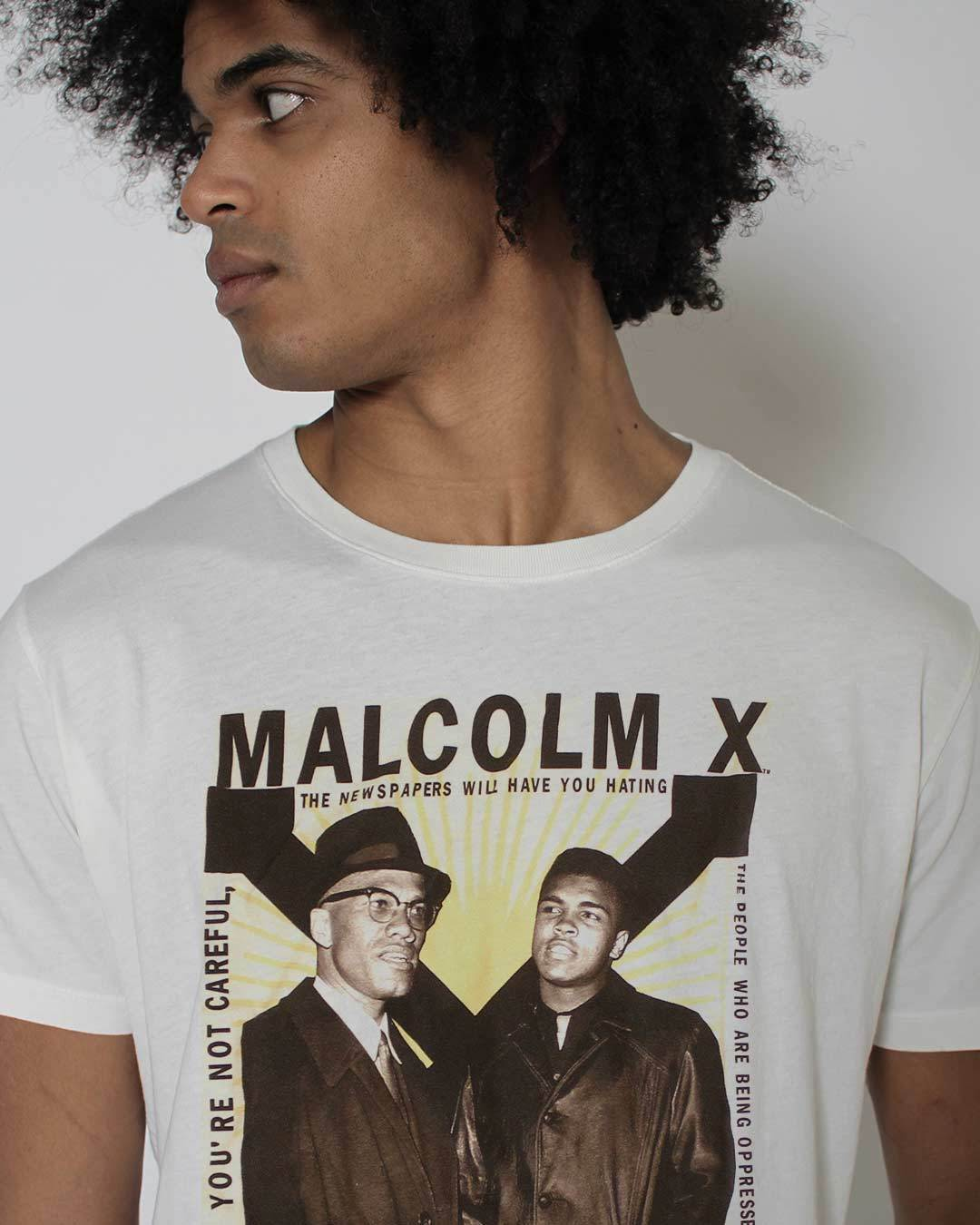 BHT - Malcolm X & Ali Tee - Roots of Inc dba Roots of Fight