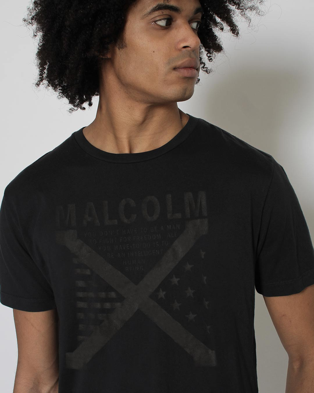 BHT - Malcolm X Tee - Roots of Inc dba Roots of Fight