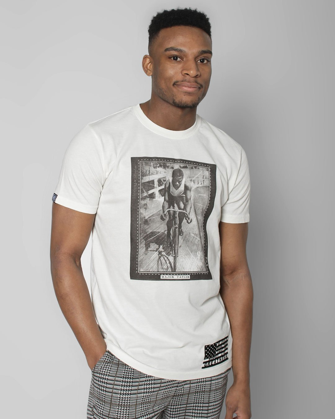 BHT - Marshall Taylor Photo Tee - Roots of Inc dba Roots of Fight