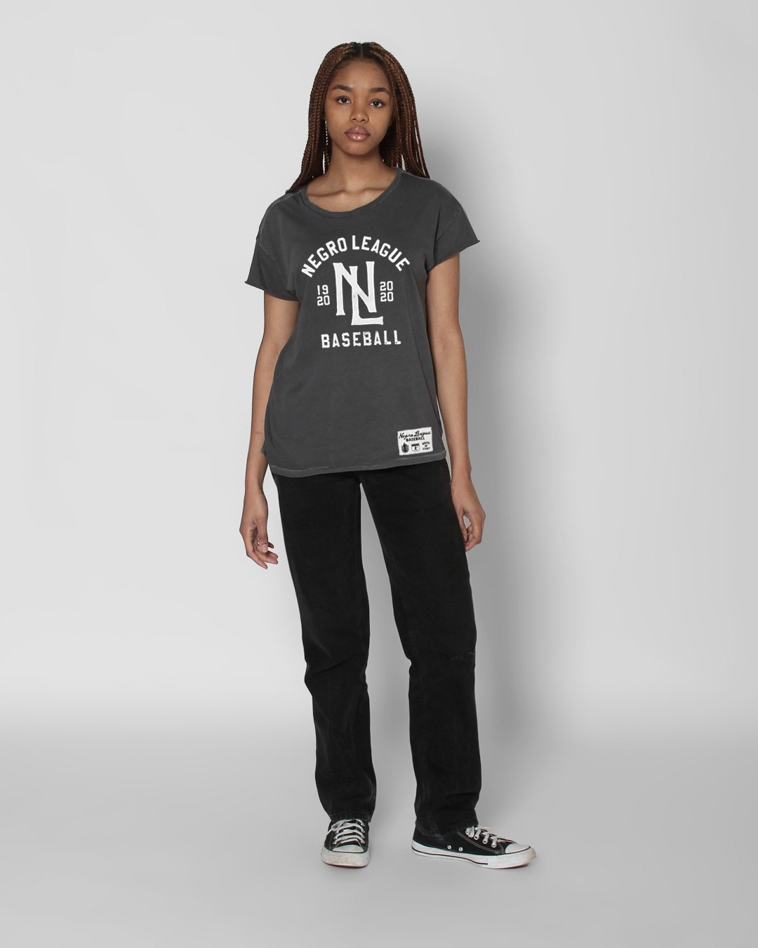BHT - Negro League Baseball Women's Tee - Roots of Inc dba Roots of Fight