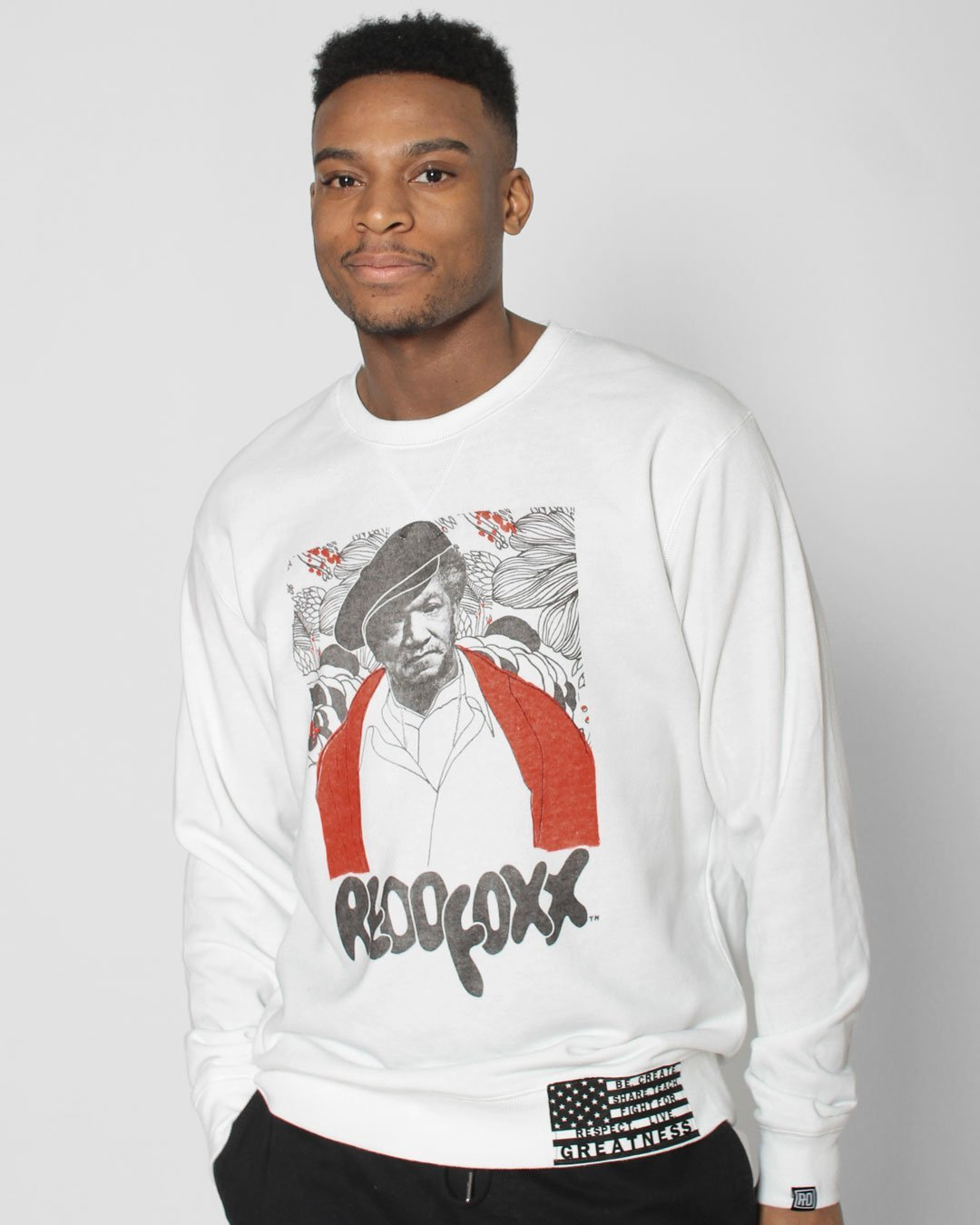 BHT - Redd Foxx Cover Photo Sweatshirt - Roots of Inc dba Roots of Fight
