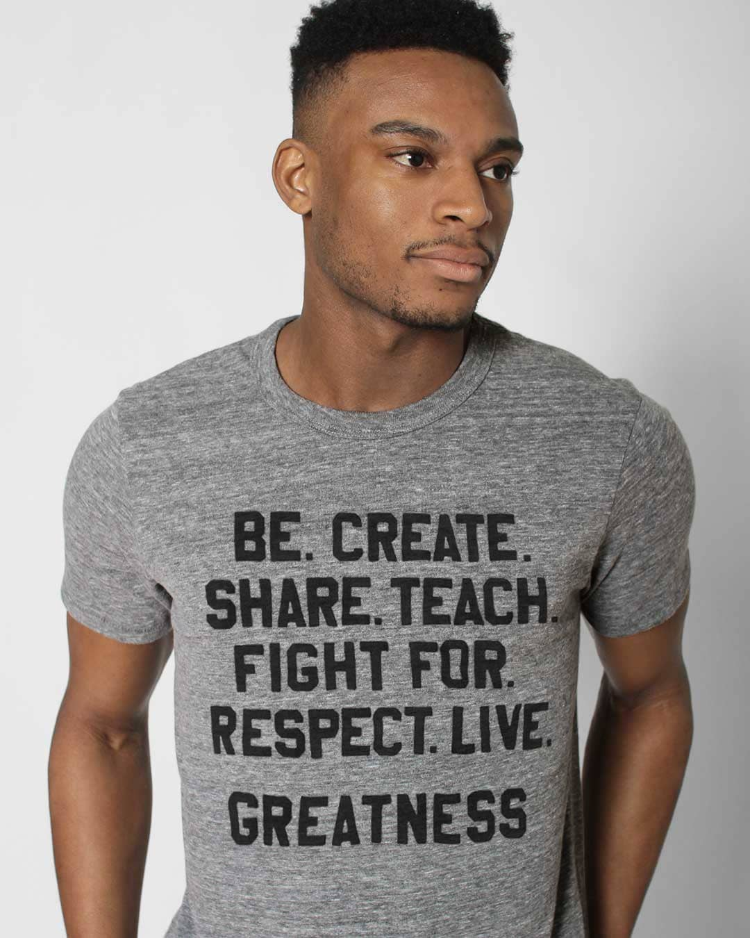 BHT - Roots of Fight Greatness Tee - Roots of Inc dba Roots of Fight