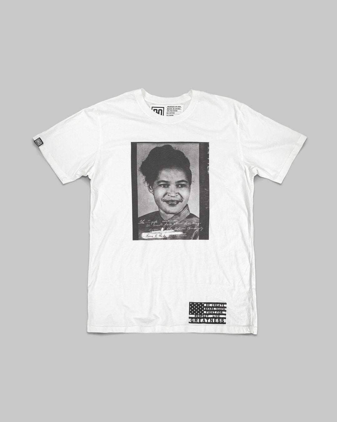 BHT - Rosa Parks Photo Tee - Roots of Inc dba Roots of Fight