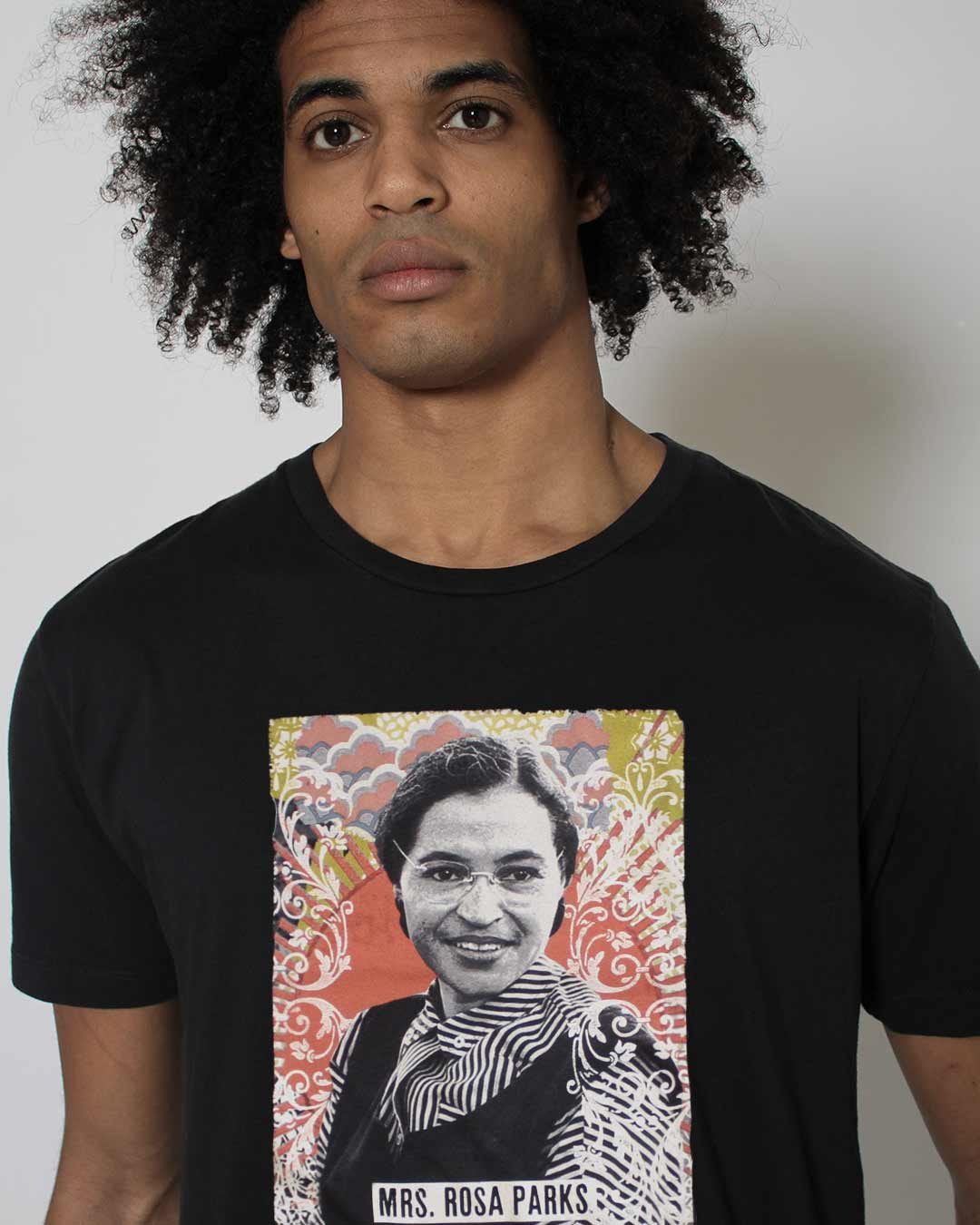 BHT - Rosa Parks Portrait Tee - Roots of Inc dba Roots of Fight