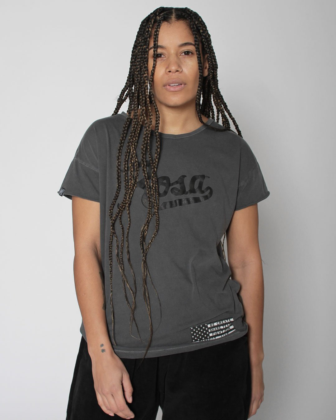 BHT - Rosa Parks Women's Tee - Roots of Inc dba Roots of Fight